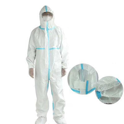 Disposable Medical Protective Coverall Isolation Gowns Safety Clothing Suit