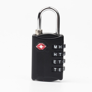 13334 Unique Design 4-Dial TSA Combination Lock