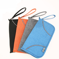 13599C Portable Polyester Passport Holder
