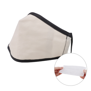 17011A 3Ply Cotton Non-Disposable Filter Dust Face Mask