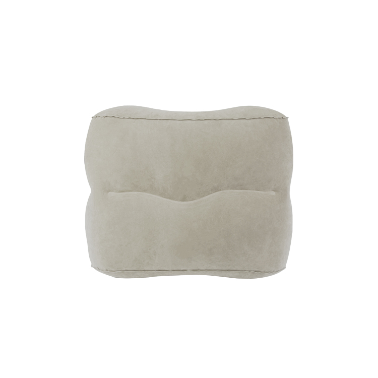 16427A PVC Flocking Foot Rest Pillow