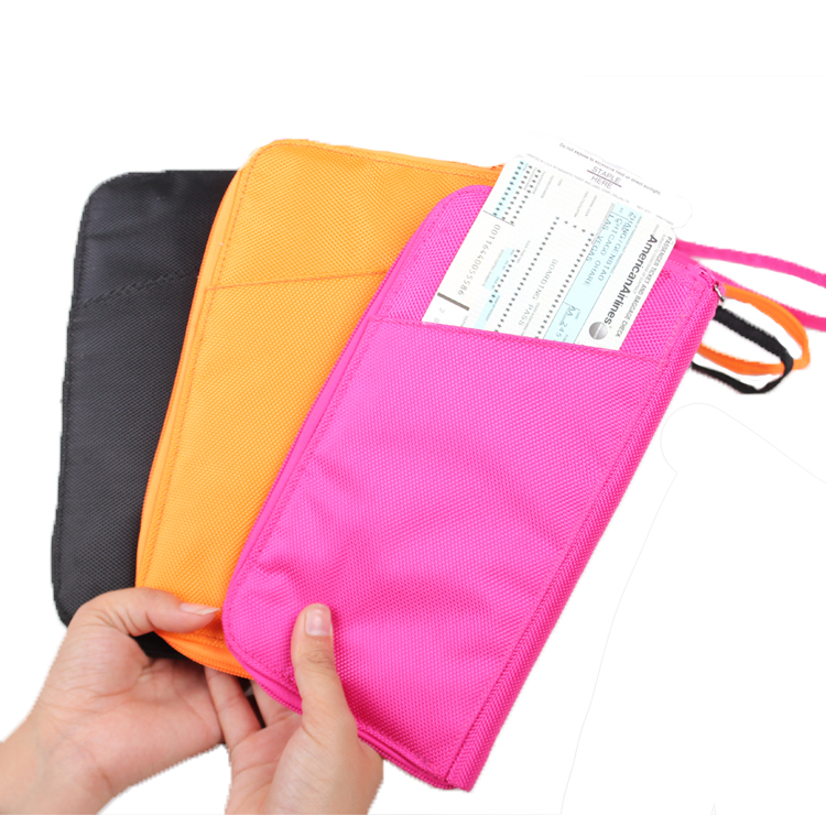 13599B Fashion Polyester Passport Holder