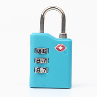 13333 TSA Approved 3 Digital Combination Security Padlock