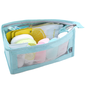 13545 Folding Water-resistant Travel Cosmetic Polyester Toiletry Bag