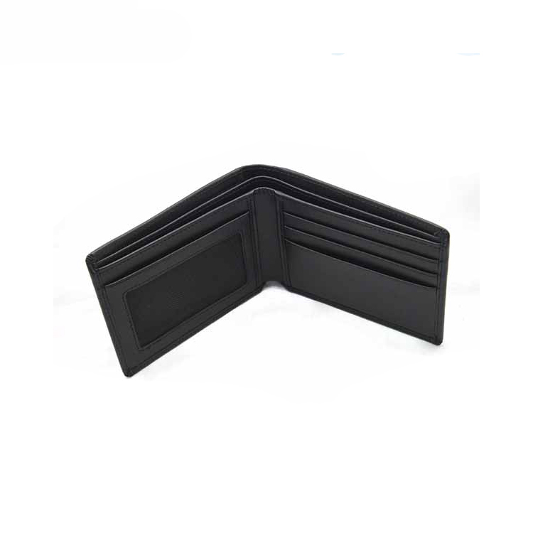 13568C Genuine Split Leather Men Wallet