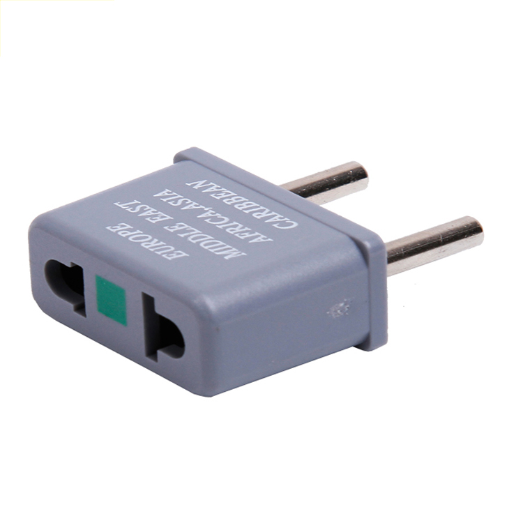 13652S Mini Europe Travel Adapter Plug