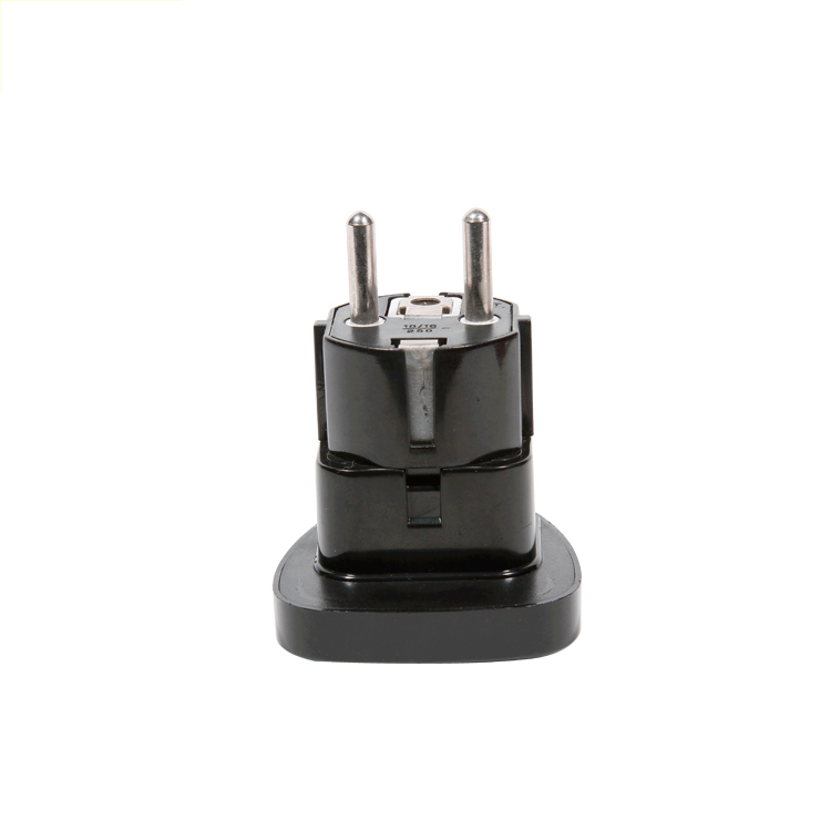 13658G European 2 Flat Pin Type Plug Universal Travel Plug Adapter