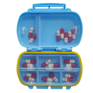 13708 Travel Food-grade Plastic Pill Organizers